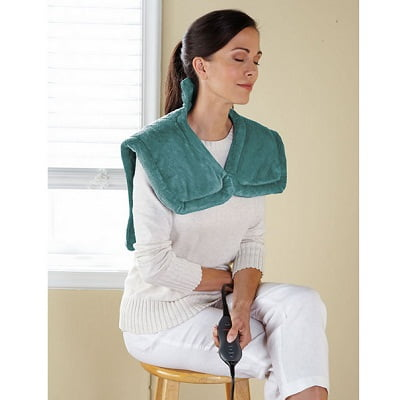 The Massaging Heated Neck and Shoulder Wrap 2