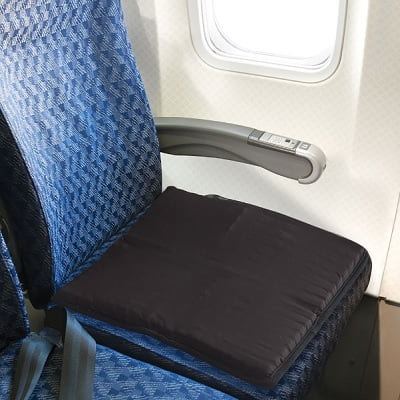 The Travelers Packable Gel Seat Cushion