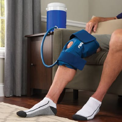 The Continuous Cold Therapy Knee Wrap