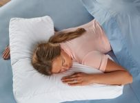 The Shoulder Supporting Comfort Pillow