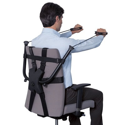 The Office Chair Strength Trainer