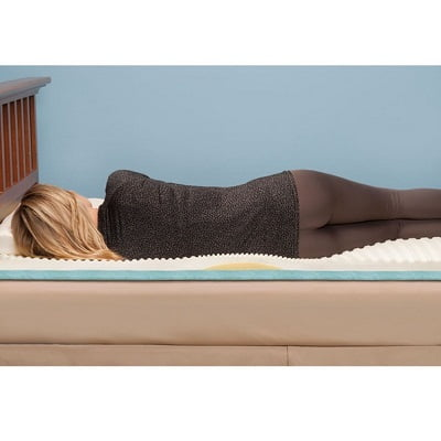 The Lumbar Supporting Memory Foam Mattress Pad 2