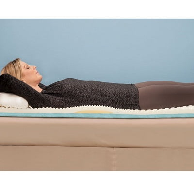 The Lumbar Supporting Memory Foam Mattress Pad