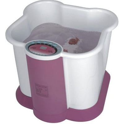 Carepeutic Foot and Leg Spa Bath Massager with O3 Sterilization and Heated Therapy