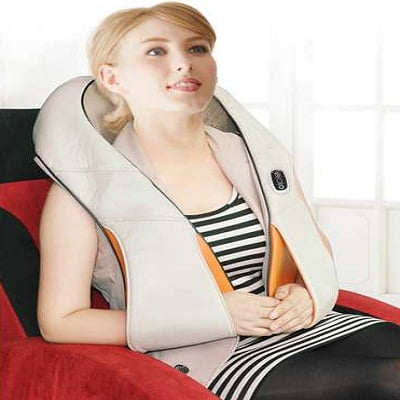 Carepeutic KH269A Deluxe Swedish Shiatsu Kneading Full Body Massager with Heated Therapy 2