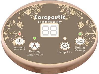 Carepeutic Motorized Foot and Leg Spa Bath Massager 3