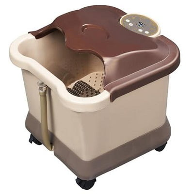 Carepeutic Motorized Foot and Leg Spa Bath Massager