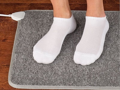 The Circulation Enhancing Heated Floor Mat 1