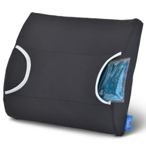 The Hot Cold Therapy Lumbar Support - uses warm and cold therapeutic relief to ease lower back pain