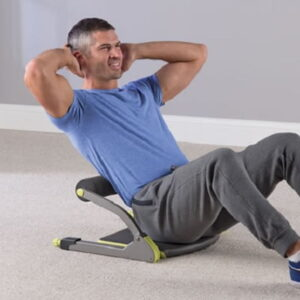 The Back and Core Strengthener - uses resistance-training technology to improve back and core strength