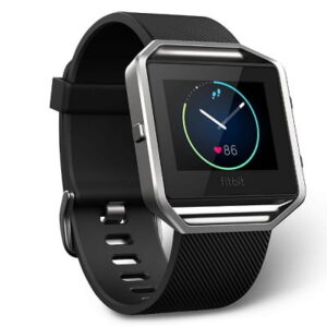 The Fitbit Blaze Watch - A fitness watch that keeps real-time record of day and night activity