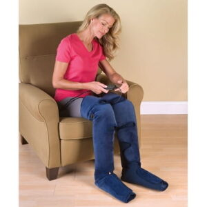 The Pain Relieving Heated Leg Wraps - designed provide soothing warmth to achy legs and fatigued feet
