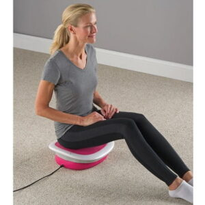 The Hip and Lower Back Massage Seat - Sways lower body comfortably to help increase circulation in the hips and lower back
