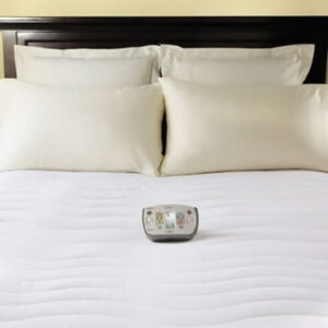 The Only Six Zone Heated Mattress Pad - Packed with unique heating elements and different warm levels