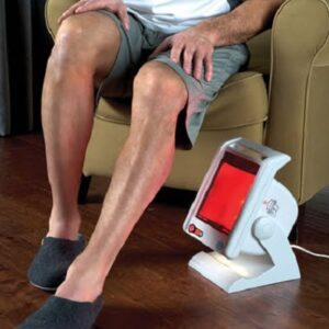 The Clinical Strength Infrared Therapy Lamp - Helps improve circulation, increase healing and provide relief from pain and tension