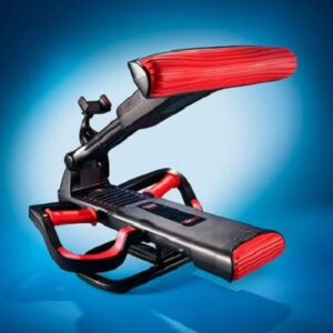 The Four Minute Core Trainer - A handheld kinetic resistance trainer capable of providing total core workout