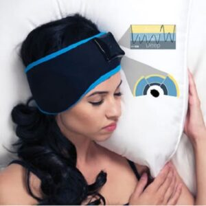 The Sleep Enhancing Headband - Uses series of self-adjusting rhythmic binaural beats to help optimize the quality of your sleep