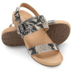 The Lady's Plantar Fasciitis Backstrap Sandals - The perfect lady's backstrap strap sandals that help combat the effects of plantar fasciitis