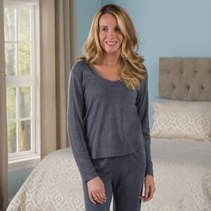 The Lady's Sleep Enhancing Pajama Top