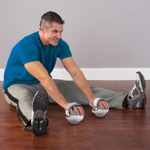 The Stretch Improving Rollers - A handheld rollers that provide an increased range of motion when stretching