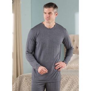 The Men's Sleep Enhancing Pajama Shirt - clinically proven to increase blood flow to help promote  better night sleep