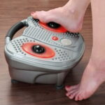 The Plantar Fascia Heated Foot Massager - A heated foot massager that helps ease the pain of plantar fasciitis