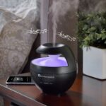 The Relaxation Aromatherapy Orb - the aromatherapy diffuser that plays soothing music while emitting a fragrant mist