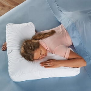 The Shoulder Supporting Comfort Pillow - Design to provide optimal shoulder support and proper spinal alignment