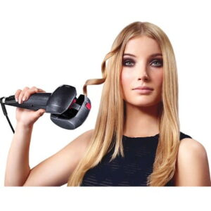 The Instant Curling Iron - A handheld curler that automatically winds, heats, and releases hair to create frizz-free curls