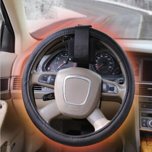 The Warmest Heated Steering Wheel Cover - A heated steering wheel cover design to help keep the hands warm during cold winter drives