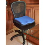 The Posture Improving Seat Cushion - With comfortable ergonomic design to help relieve painful pressure on the spine