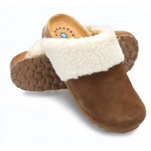 The Reflexology Scuff Slippers - design to provide gentle massaging sensation, stimulate pressure points, and increase blood flow while walking