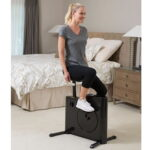 The Tight Space Exercise Bicycle - A full featured exercise bike that fits easily in a closet
