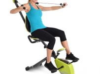 The Arm Toning Recumbent Bicycle
