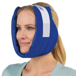 The TMJ Pain Reliever - A head wrap design reduce pain and swelling in the jaw caused by temporomandibular joint dysfunction