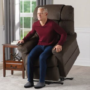 The Sleep and Assisted Lift Recliner - A luxury recliner with heat, massage and 6 different preprogrammed positions for that unparalleled comfort every time