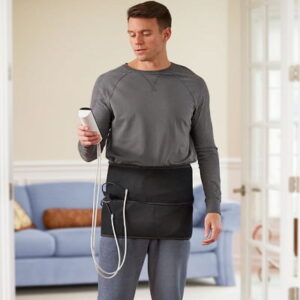 The Pain Relieving Hip Wrap - inflates and deflates to improve circulation, soothe sore muscles, and reduce inflammation