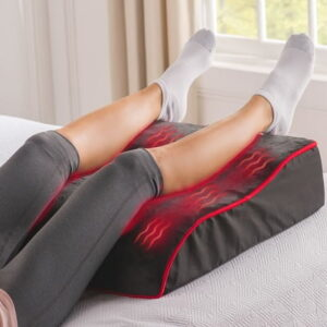 The Pain Relieving LED Leg Rest - with LEDs clinically proven to ease pain and stiffness that elevates the legs to a healthful angle