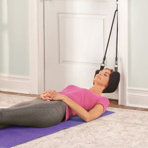 The Pain Relieving Neck Sling - uses cervical traction to help reduce neck pain