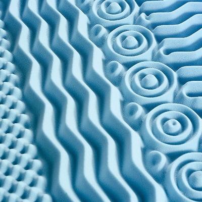The Body Contouring 7 Zone Memory Foam Topper 1