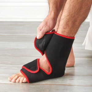The LED Foot And Ankle Pain Reliever - helps relieve pain in the foot and ankle