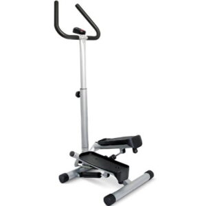 The Low Impact Compact Stepper - provides lateral stepping workout that targets glutes and quads