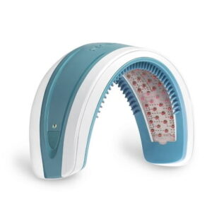 The Hands Free Hair Rejuvenator - A cordless hands-free headband that rejuvenates hair by stimulating follicles