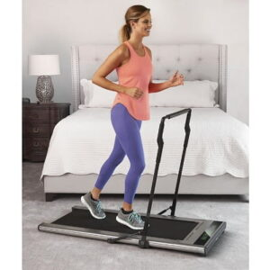 The Pace Reacting Ultraslim Treadmill - adjusts its speed automatically