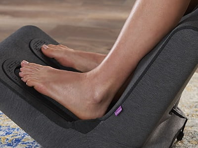 The Triple Therapy Foot And Calf Massager 1