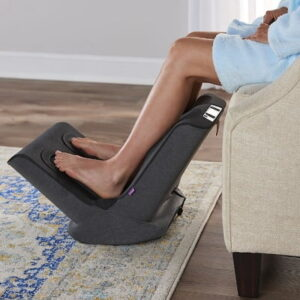 The Triple Therapy Foot And Calf Massager - Relieves pain, improve circulation and sooth feet and calves muscles effectively