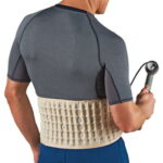 The Lumbar Disc Decompression Belt - An inflatable lumbar support belt capable of alleviating lower back pain and stiffness