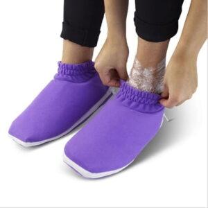 The Moisturizing Heated Booties - Help alleviate dry skin using heat