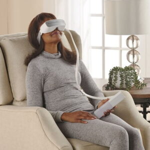 The Gentle Wave Therapeutic Eye Massager - Help stimulate circulation and reduce pressure and puffiness