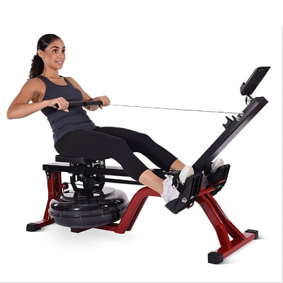 The Space Saving Water Rower